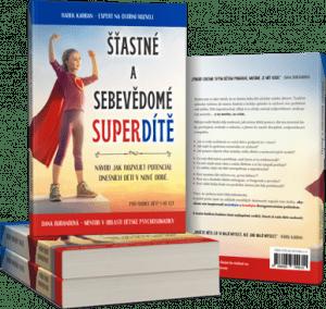 Kniha Šťastné a sebevědomé superdítě